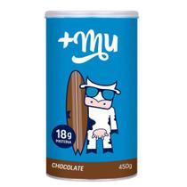 Proteina para Atletas Chocolate Tradicional 450g +Mu - Maismu