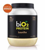 Proteína Vegana biO2 Protein Baunilha 908g - biO2 -
