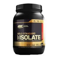 Proteína Whey Gold Isolate 720g Morango 1,58LBS Optimum Nutrition