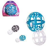 Protetor bola para lavagem de sutiã com bojo na maquina - Plasútil