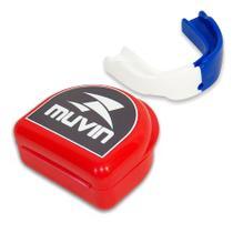 Protetor Bucal Dual Color - Muvin - PTB-200 -