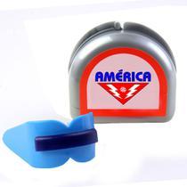 Protetor Bucal Duplo c/ Estojo - América