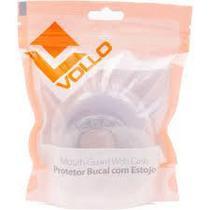 Protetor bucal prata com estojo vollo -