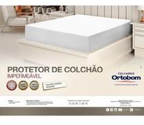Protetor Colchão Impermeável Ortobom Casal 1,40cm X 1,90cm - Claudia Casa