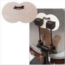 Protetor De Bumbo Para Pedal Duplo De Bateria Torelli -