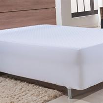 Protetor de colchão confort solteiro. 1,00 x 2,00 + 30 cm branco - niazitex -