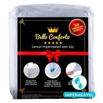 Protetor de Colchão Impermeável Queen Size Fibrasca Belo Conforto -
