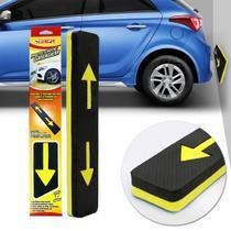 Protetor de Garagem Luxcar Preto e Amarelo em EVA para Estacionar -