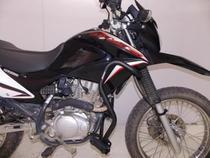 Protetor De Motor Carenagem Com Pedaleiras Honda Nxr Bros 150 - Chapam -