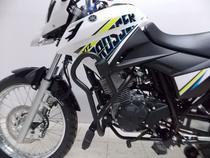 Protetor de Motor Carenagem com pedaleiras Yamaha XTZ Crosser 150 Preto Fosco - Chapam