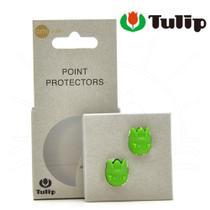 Protetor de Pontas de Agulhas Tulip Verde Pequeno - 2 Unidades -