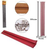 Protetor de Porta Duplo Estampado Liso 80cm - Portex -