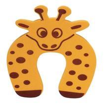 Protetor De Porta Infantil Bebê Trava Dedos Girafa Amarela - Clink