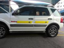 Protetor De Porta Magnético Para Carro - 4 Unid. - Amarelo - AUTOPROTETOR