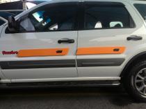 Protetor De Porta Magnético Para Carro - 4 Unid. - Laranja - Autoprotetor