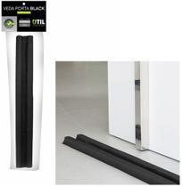 Protetor de Porta Napa Duplo Liso Black 70cm - Util