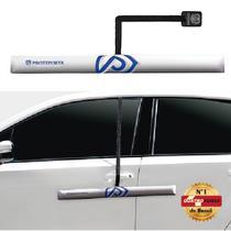 Protetor de Porta para Carro com Imã - 1 peça Prata - Proteporta