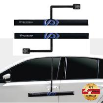 Protetor de Porta para Carro com Imã - 2 peças Preto - Proteporta