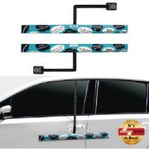 Protetor de Porta para Carro com Imã - 2 peças Turquesa - Proteporta