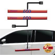 Protetor de Porta para Carro com Imã - 2 peças Vermelho - Proteporta