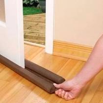 Protetor de Porta Residencial Impermeável Duplo 1,20m Marrom - Megan