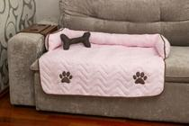 Protetor de Sofá Pet Snoopy Grande Rosa - Enxovais M&D