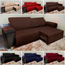 Protetor de Sofá Retrátil e Reclinável - 2,40m - Isabel Cristina Art E Decor