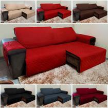 Protetor De Sofá Retrátil E Reclinável para Assento de 1,80m - Isabel Cristina Art E Decor