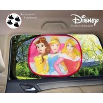 Protetor de sol lateral de carro Princesas infantil -Quebra Sol - Etihome
