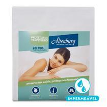 Protetor de Travesseiro Impermeável Altenburg Antimicrobial 230 Fios Branco -