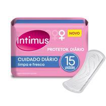 Protetor Diário Intimus Cuidado Diário - 15 unidades -