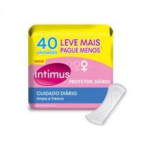 Protetor Diário Intimus Cuidado Diário - 40 unidades -