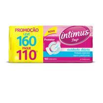 Protetor Diário Intimus Days Cuidado Diário S/Perfume - 160 unidades -