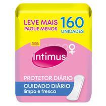 Protetor Diário Intimus Days Cuidado Diário Sem Perfume Leve 160 Pague 110 Unidades -