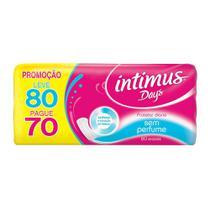 Protetor Diário Intimus Days Sem Perfume Sem Abas Leve 80 Pague 70 -