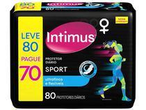 Protetor Diário Intimus Sport Ultrafino - 80 Unidades