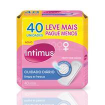 Protetor Diário Intimus Ultra Flexivel - 40 unidades -
