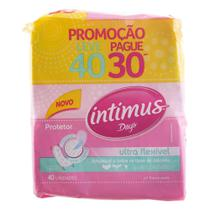 Protetor Diário Intimus Ultra Flexível 40Un - Intimus days -