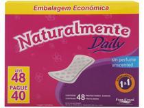 Protetor Diário Naturalmente Daily 48 Unidades -
