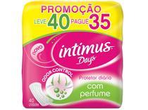 Protetor Diário Sem Abas Intimus Days - 40 Unidades