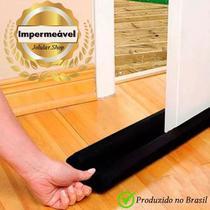 Protetor e Veda Porta - Napa - Impermeável - Contra insetos e poeiras - 80cm - Jolular.Shop - Preto -