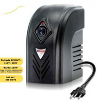 Protetor eletrônico 300w bivolt emplac estabilizador -