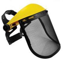 Protetor Facial Com Tela De Aço Para Operador De Roçadeira - Mammut