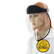 Protetor facial visor transparente bolha médicos enfermeiros - Depaulaepis