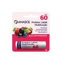 Protetor labial anasol fps60 morango e acai 5g - Dahuer Ltda