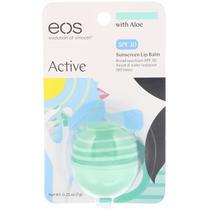 Protetor Labial EOS  Lip Balm Aloe Vera Fator 30 Importado USA -