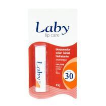 Protetor labial laby lip care fps 30 morango - Bravir