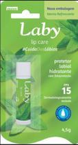 Protetor Labial Laby Menta FPS 15 4,5g - Bravir
