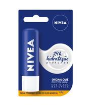 Protetor labial nivea original shine - 4,8 g - cod 850617 -