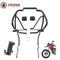 Protetor Motor Carenagens C/ Pedaleiras Xre300 Chapam Até 19 -